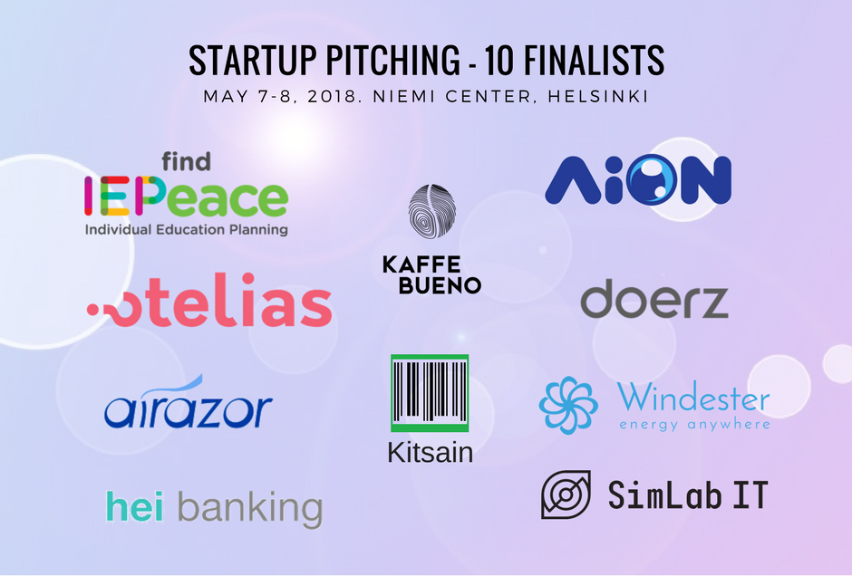 Here Are The 10 Finalists That Are Selected For The Startup Pitching Contest At InnoFrugal 2018